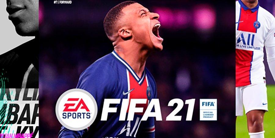 Мбаппе первым в мире получил комплект FIFA 21