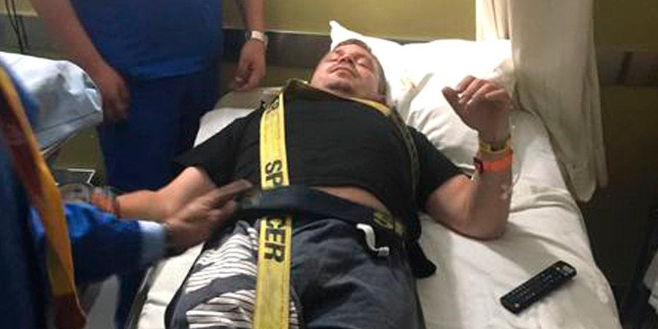 У российского гонщика, снявшегося с «Дакара», сломан позвонок