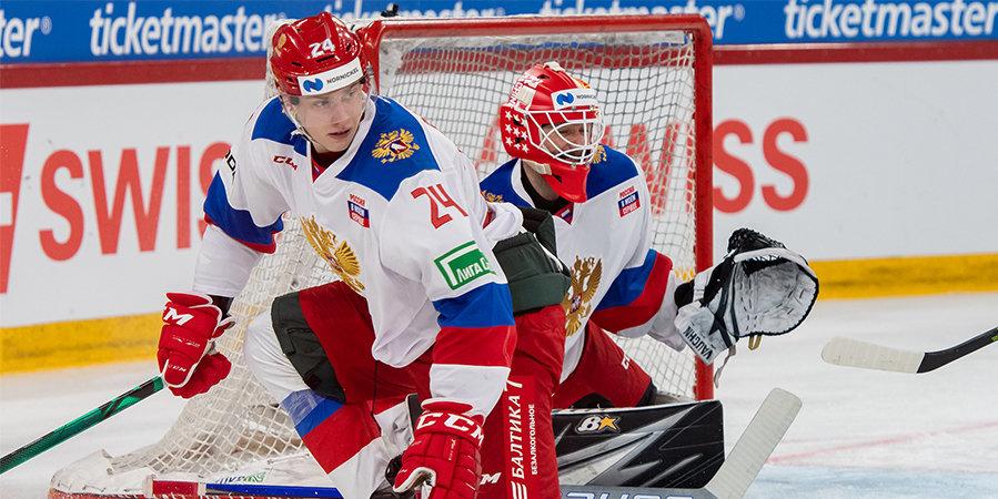 Россия вновь проиграла Швейцарии. Все решил один гол