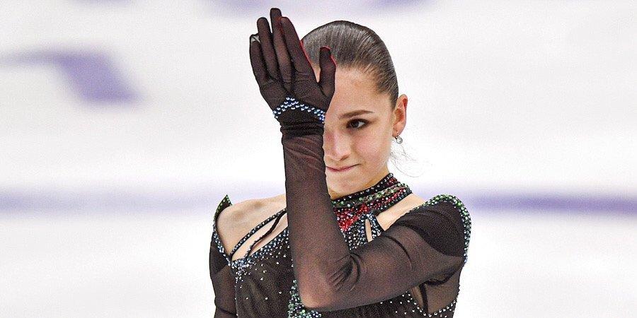 Валиева назвала причину падения в короткой программе на чемпионате России