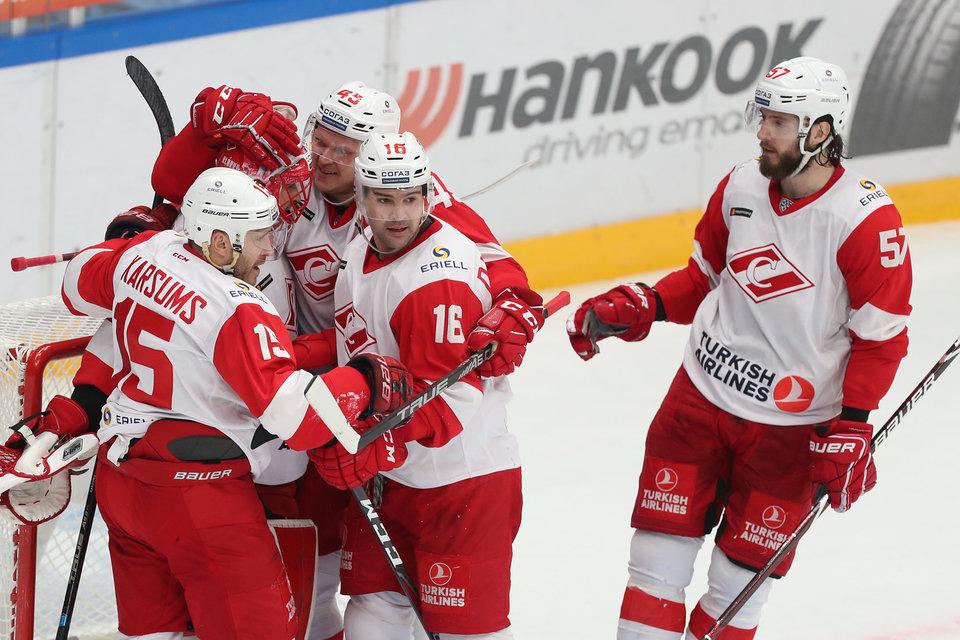 «Спартак» назвал арену, где будет проводить игры КХЛ в следующем сезоне