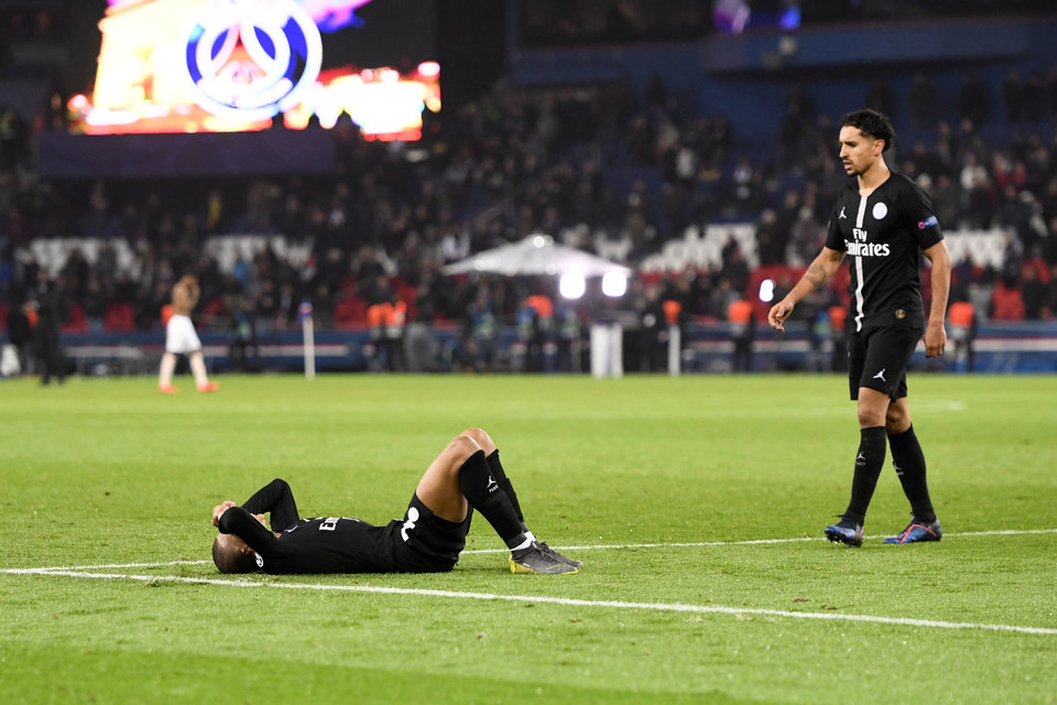 Нападающий «ПСЖ» объяснил промах в матче против «Страсбура»