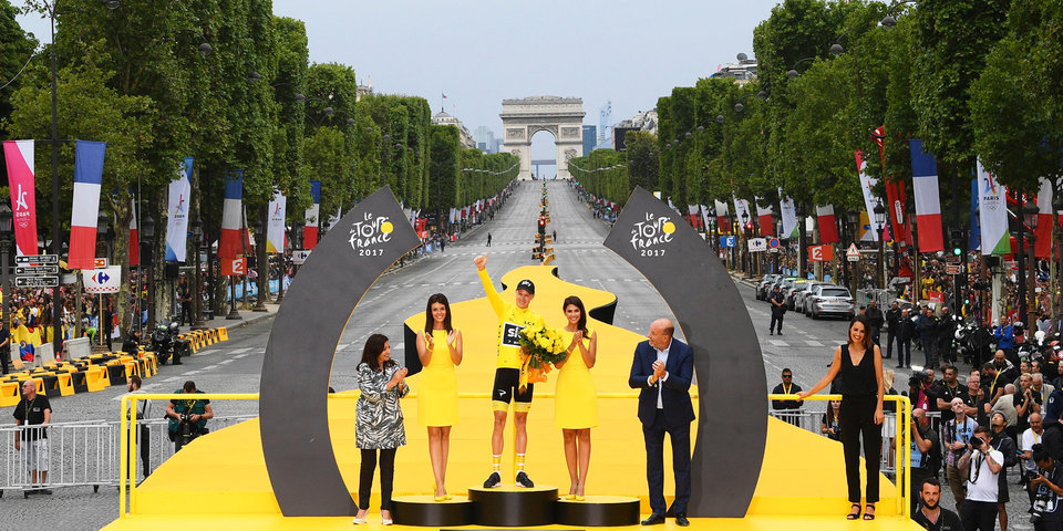 Команда Фрума получила более 700 тысяч евро по итогам «Тур де Франс»
