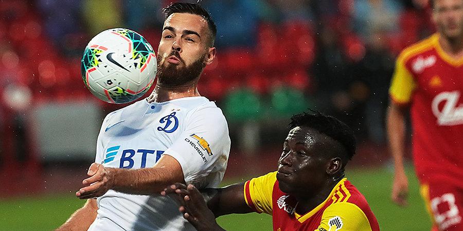 Кардозу признан лучшим игроком матча «Арсенал» — «Динамо»