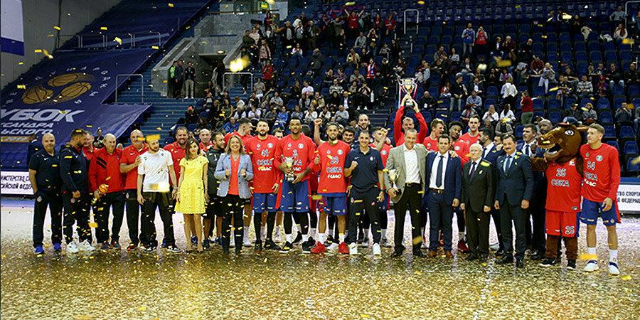 ЦСКА выиграл Кубок Гомельского, «Химки» стартовали в Единой лиге. Как открывали баскетбольный сезон