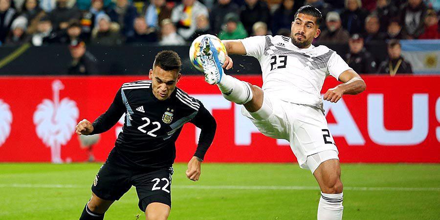 Аргентина без Месси уступала 0:2 в Дортмунде, но вырвала ничью. Видео