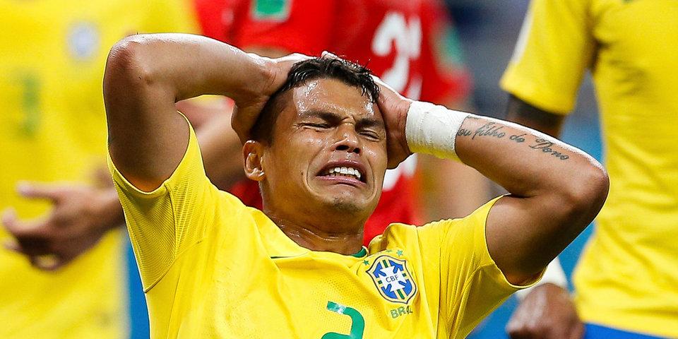 «Никогда не надо симулировать!» Бразильцы упустили победу - их тренер очень зол