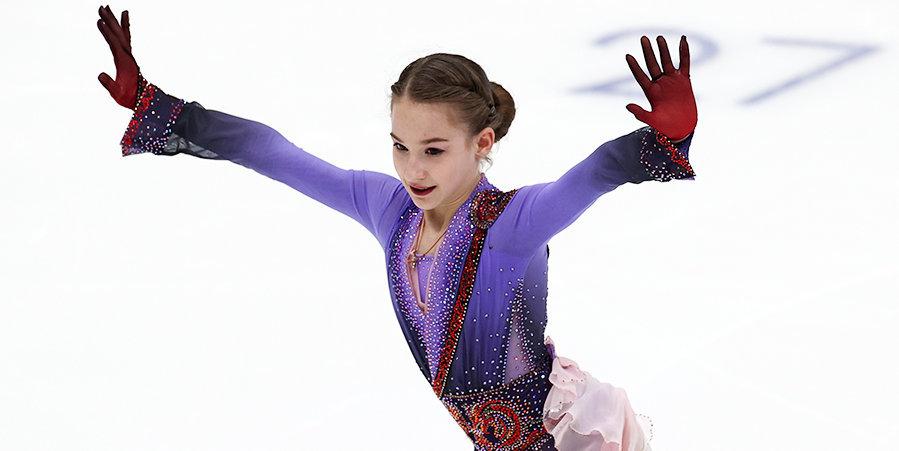 Акатьева стала победительницей этапа юниорского Гран-при в Красноярске
