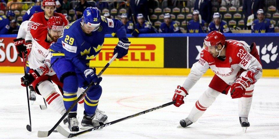 Швеция обыгрывает Данию