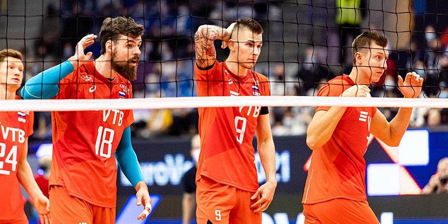 ВФВ признала удовлетворительным выступление мужской сборной России в олимпийском сезоне