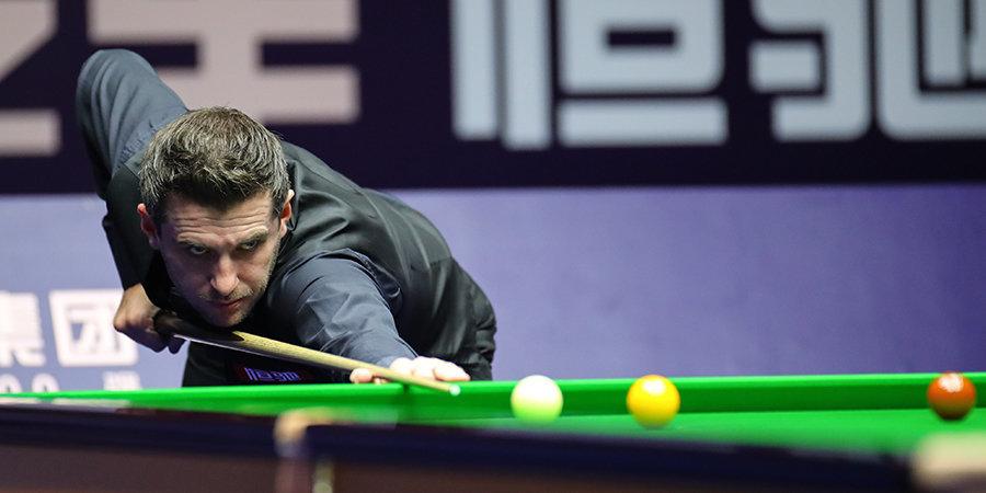 Селби разгромил Гилберта и стал первым финалистом Scottish Open