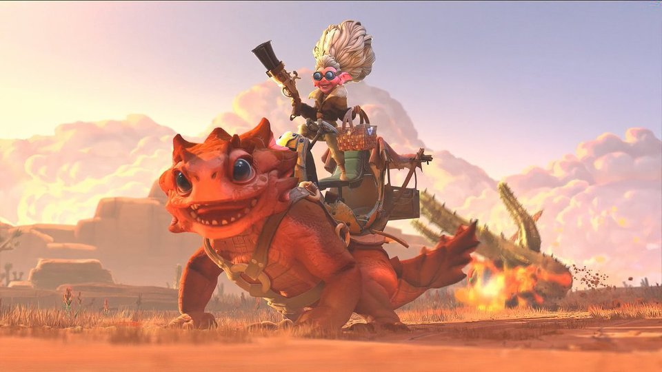 Valve показала нового персонажа Dota 2
