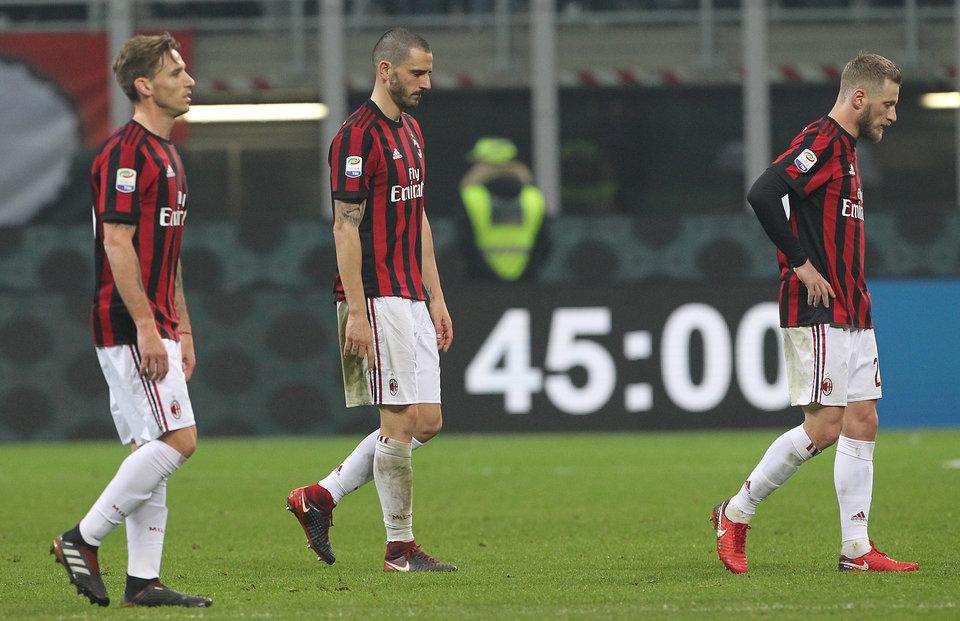«Милан» отстранен от еврокубков на два сезона