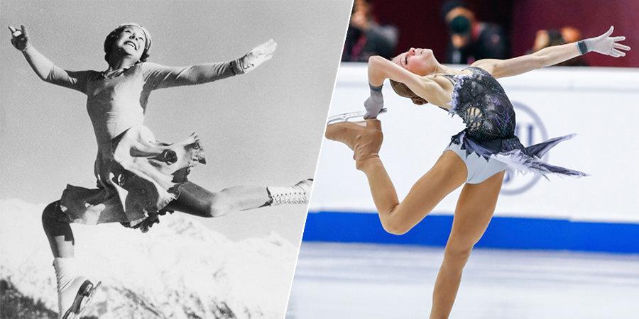 От запрета выступать на чемпионатах мира до пяти четверных прыжков. Какой путь прошли женщины в фигурном катании за 120 лет