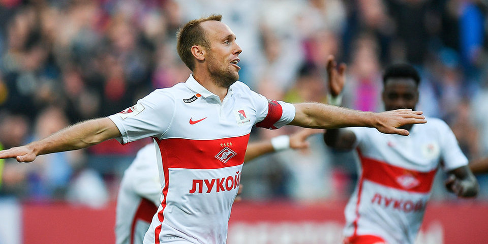 «Спартак» побеждает в дерби и отрывается на 10 очков: лучшие моменты и оценки комментаторам