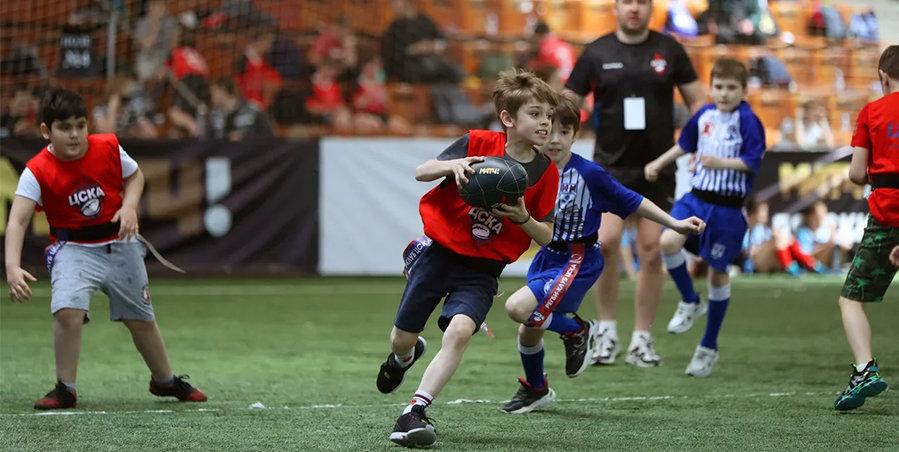 950 детей приняли участие в турнире «Матч ТВ» по тэг-регби ко Дню защиты детей