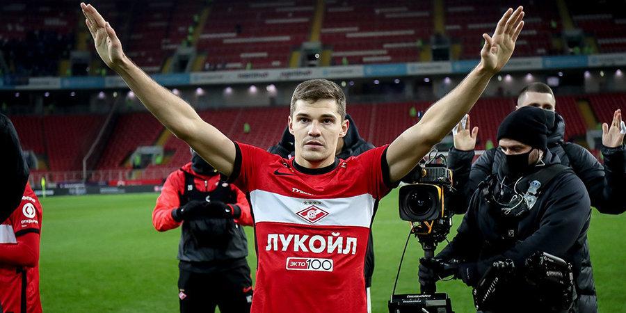 Мяч Зобнина в ворота «Динамо» признан лучшим голом месяца в РПЛ