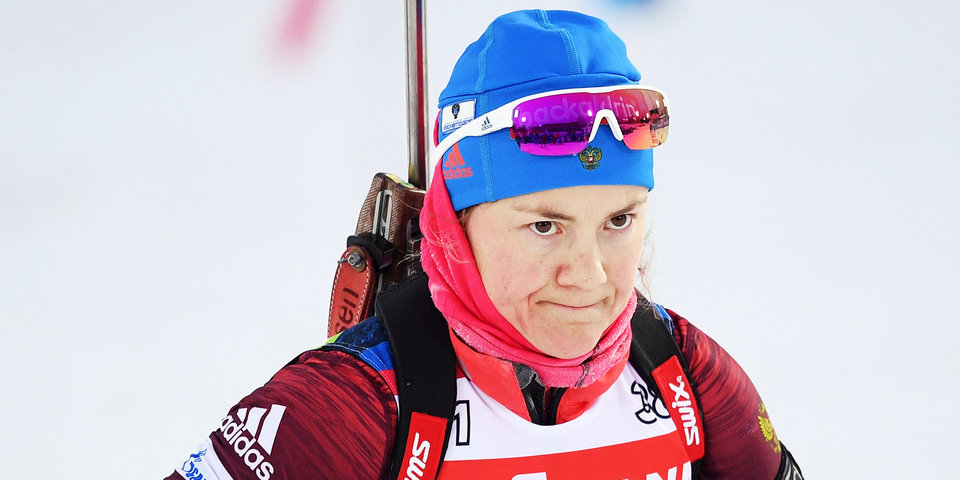 Российские биатлонистки не справились с темпом Фролиной