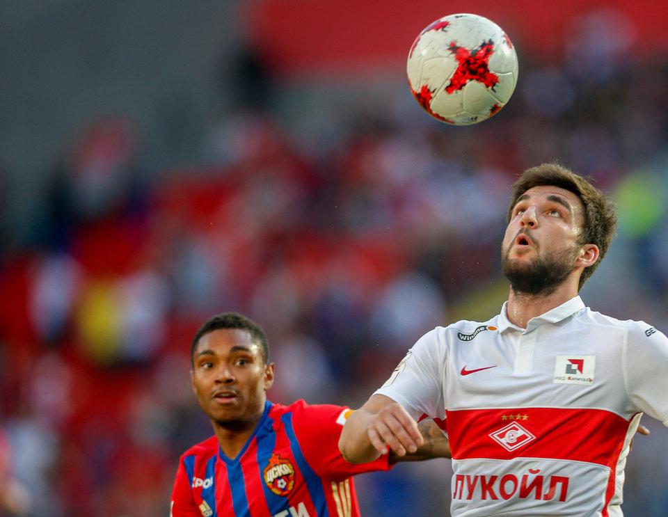 Георгий Джикия: «Хочу поднять над головой Кубок Конфедераций»