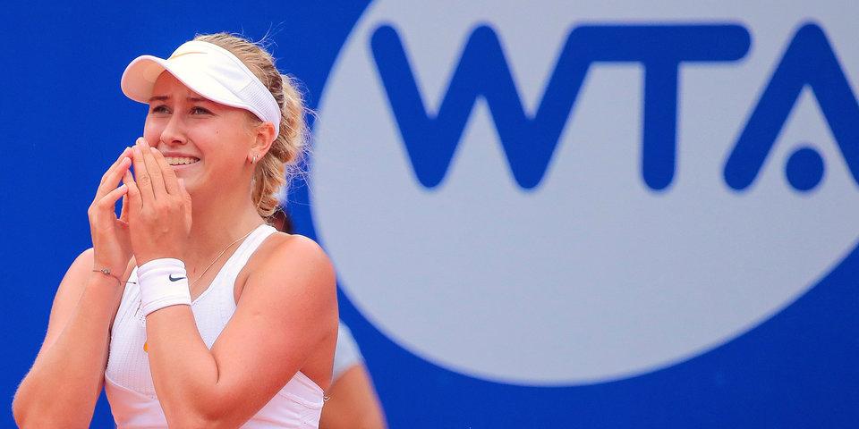 Потапова впервые в карьере вошла в первую сотню рейтинга WTA