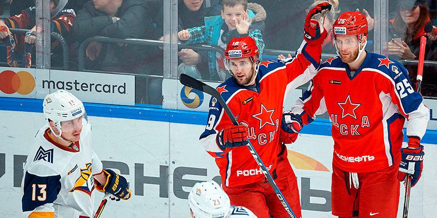 Мозякин показал два великолепных фокуса, но лидеры ЦСКА все равно были круче. Как армейцы вырвали победу у «Магнитки»