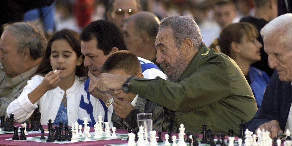 Как Фидель Кастро любил спорт