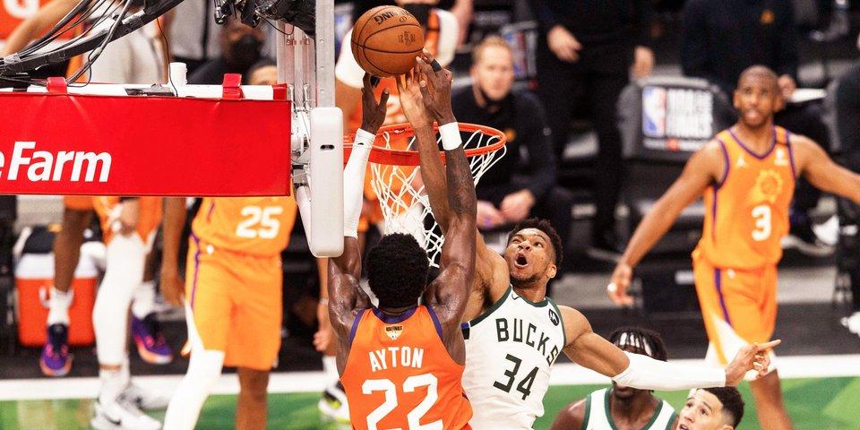 «Финикс», у вас проблема. Адетокунбо опять спас «Милуоки» и обнулил финал НБА