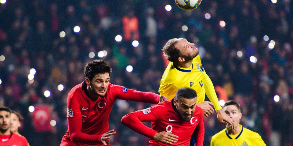 Шведы не позволили сборной России досрочно победить в группе. Лучшие моменты матча Лиги наций из Турции