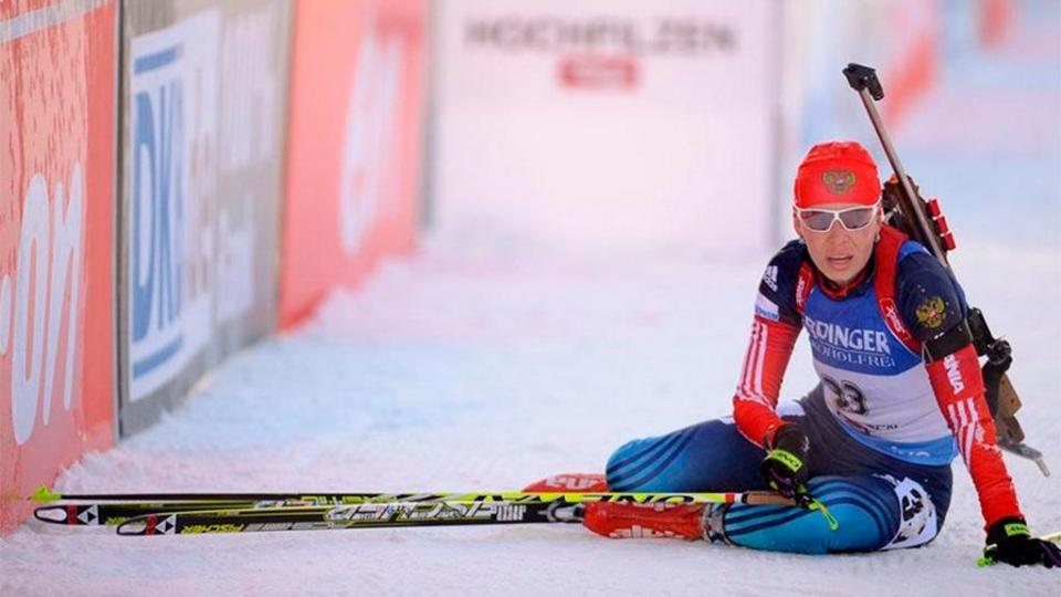 Красноярские биатлонисты выиграли смешанную эстафету, команда Виролайнен и Шумиловой – третья