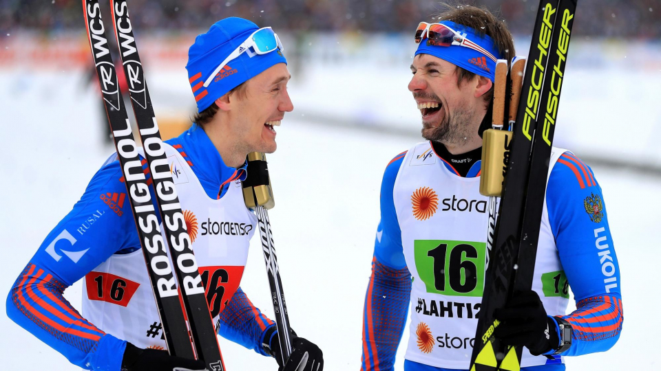 Устюгов и Крюков — чемпионы мира в командном спринте