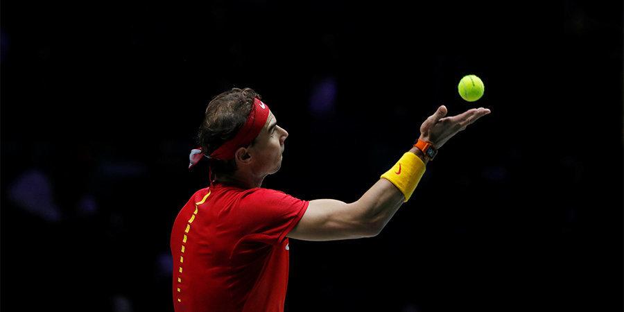 Надаль обошел Федерера по количеству попаданий в топ-2 итогового рейтинга ATP