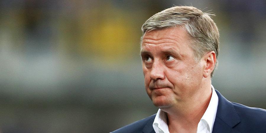 Хацкевич не сможет руководить «Ротором» в игре с «Уфой»