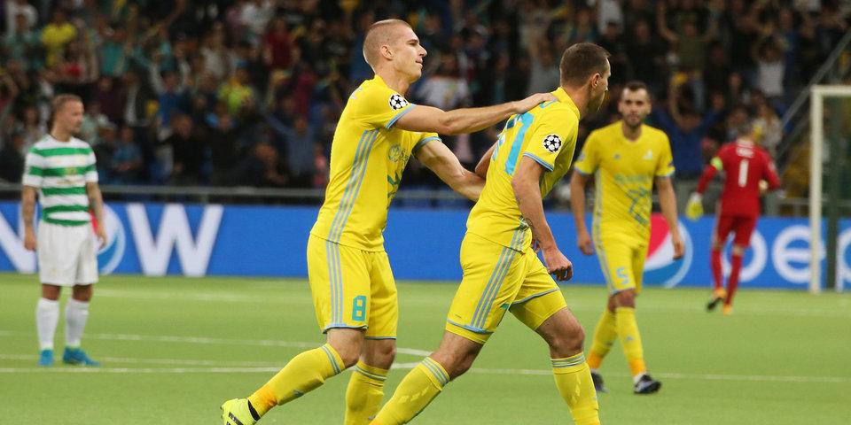 «Астана» забила «Селтику» 4 гола в Лиге чемпионов. И этого все равно мало