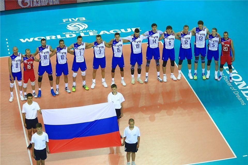Сборная России во второй раз проиграла Франции в Мировой лиге