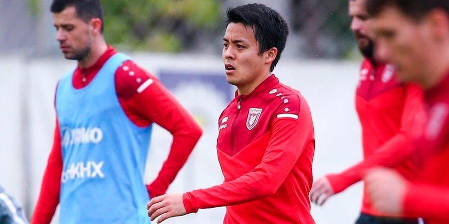 Футболист «Рубина» Сайто возобновил тренировки на поле