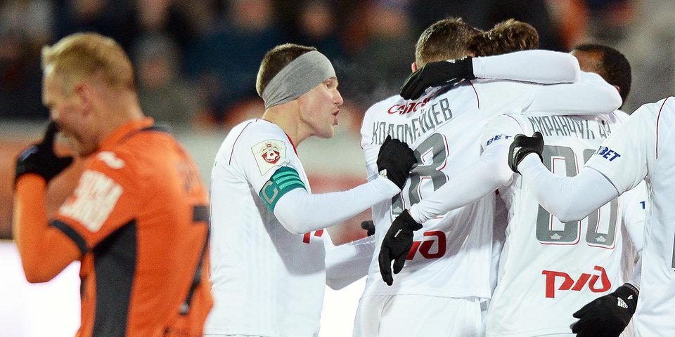 Миранчук и Фернандеш не позволяют «Спартаку» сократить отрыв