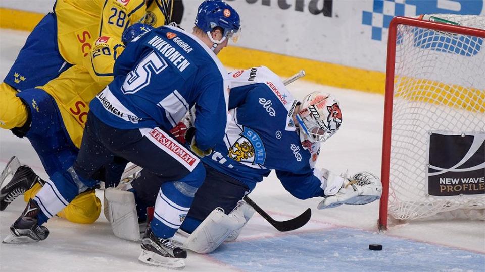 Сборная Финляндии обыграла Швецию