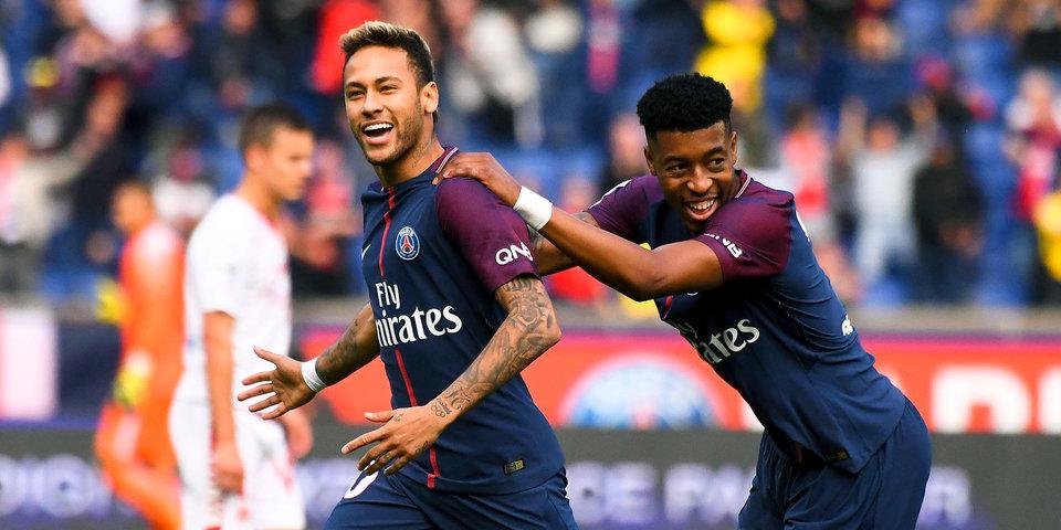 300-й гол Неймара в карьере, мячи Кавани и Мбаппе. «ПСЖ» уничтожает «Бордо»