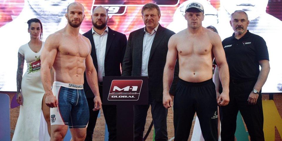 Соперник Шлеменко стал тяжелее на 9 кг за 6 часов