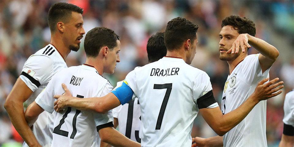 Сборная Германии осмотрела достопримечательности Санкт-Петербурга в преддверии финала Кубка конфедераций
