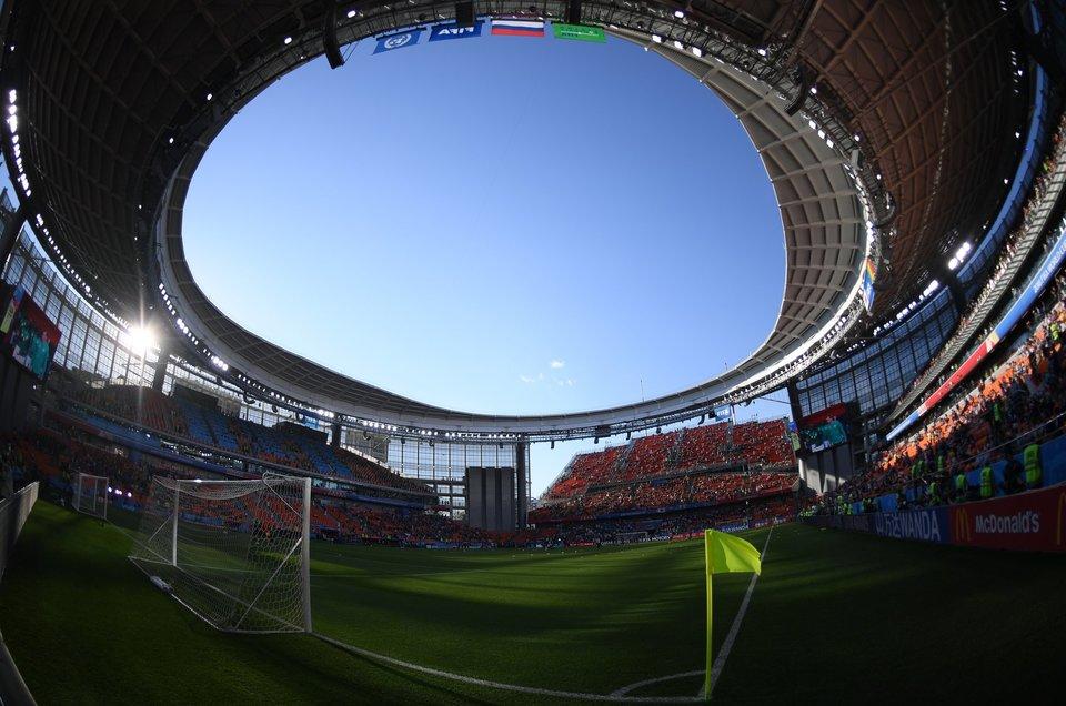 Власти Свердловской области разрешили заполнять стадионы на 50 процентов
