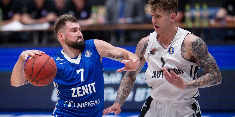 Баскетболист «Зенита» Карасев пропустит две недели из-за травмы