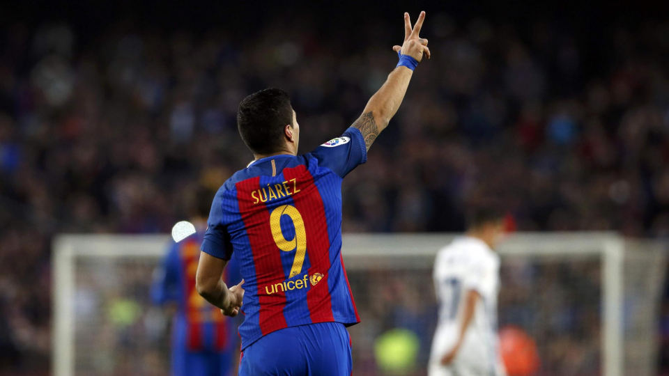 «Барселона» разгромила «Эйбар», Суарес оформил дубль