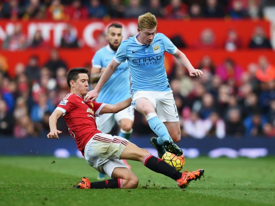 Андер Эррера: «Манчестер Сити» – фаворит дерби»