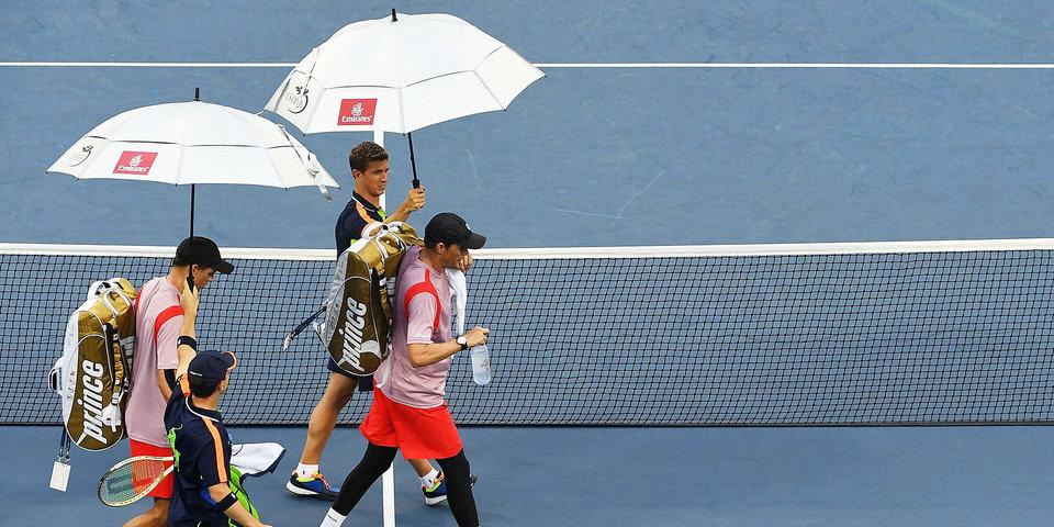 «У меня впечатление, что я Федерер: машина, личные охранники, отдельный номер». 93-я ракетка мира рассказал о самоизоляции на US Open