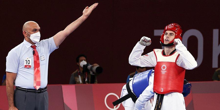 Артамонов проиграл Гусману на ЧМ — и взял реванш в Токио. Эмоции и слова бронзового призера Игр в тхэквондо