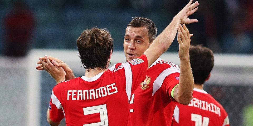 Артем Дзюба: «Безумно приятно получить кубок лучшего игрока сборной России в Лиге наций»