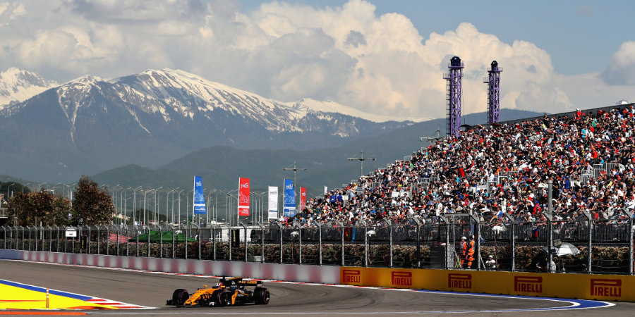 «Матч ТВ» в полном объеме покажет Гран-при России «Формулы-1»