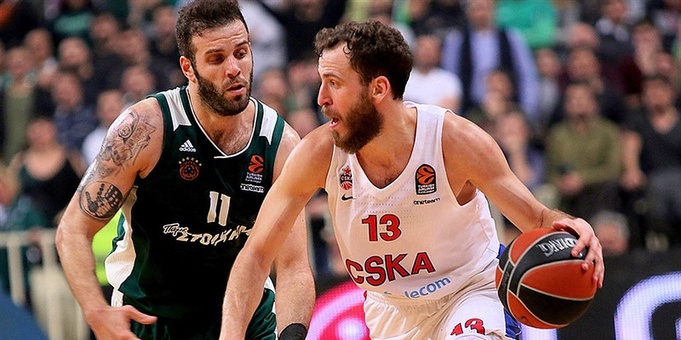 «Панатинаикос» против ЦСКА: последний тур года в Евролиге