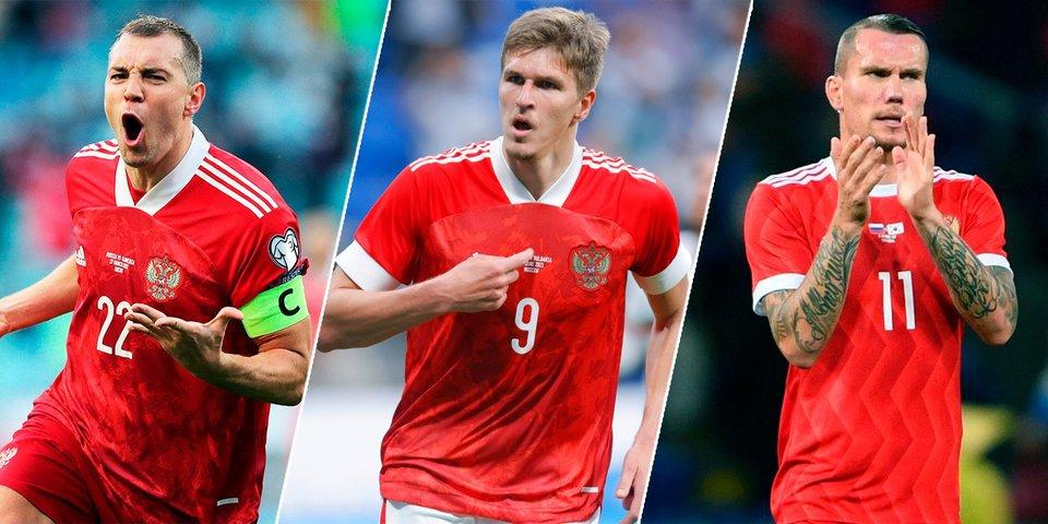 Дзюба не будет играть по 90 минут на Евро — Соболев и Заболотный должны пригодиться Черчесову. Разбор игры нападающих сборной